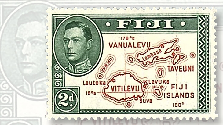 1940-two-penny-fiji-stamp