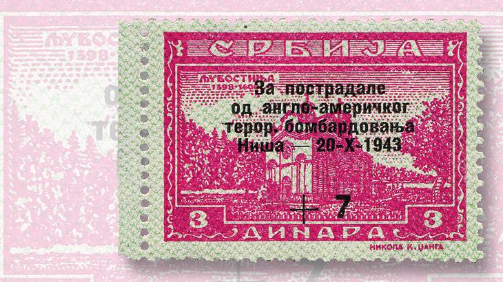 1943-serbian-semipostal-stamp
