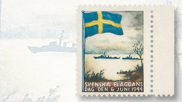 1944-flag-day-poster-stamp