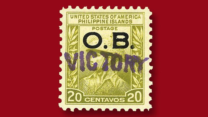 1944-victory-handstamp-twenty-cent-official-stamp