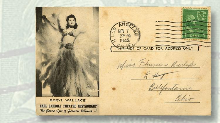 1945-advertising-postcard