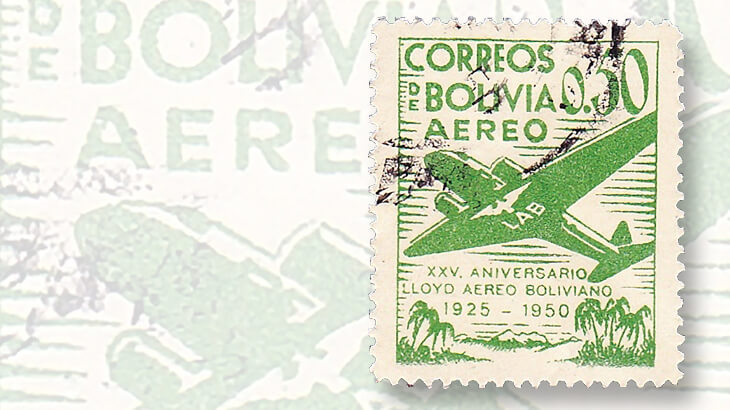 1950-set-bolivia-airmail-stamps