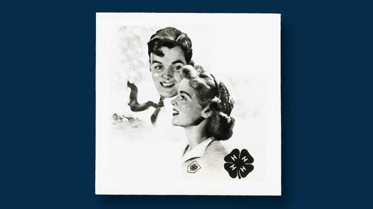 1952-4-h-club-poster
