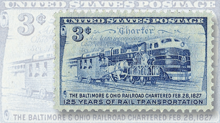 1952-stamp-125th-anniversary-us-commercial-railroading