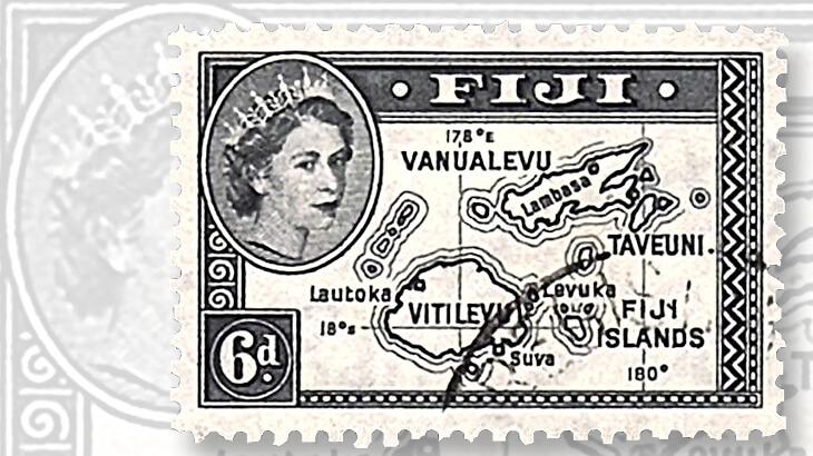 1954-fiji-queen-elizabeth-stamp
