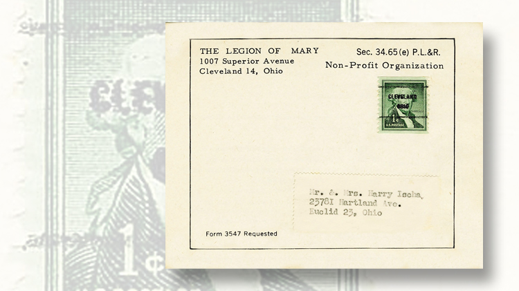 Mailed envelopes illustrate two types of nonprofit discounted ...