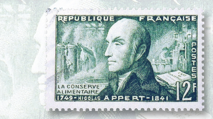 1955-french-stamp-honors-nicolas-appert