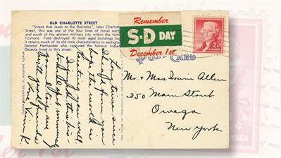 1955-safe-driving-day-postcard-label