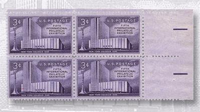 1956-fifth-international-philatelic-exhibition-three-cent-stamp