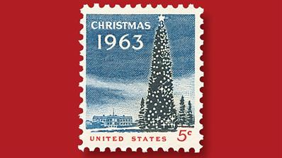 1963-five-cent-christmas-stamp