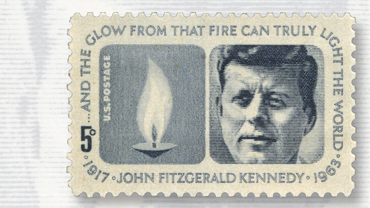 1964-john-f-kennedy-memorial-stamp