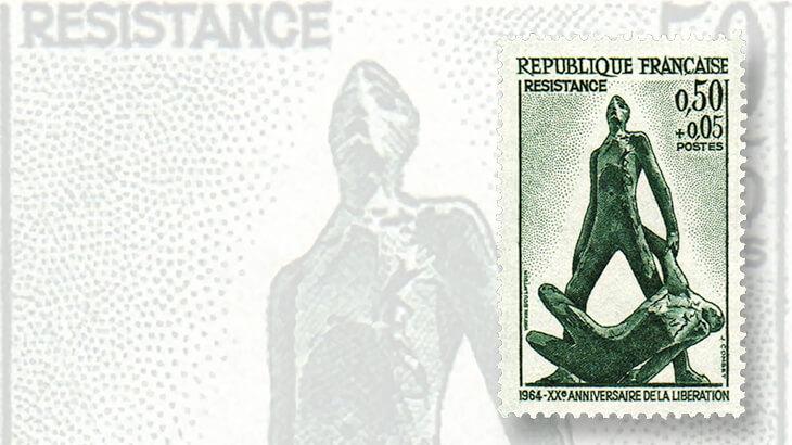 1964-resistance-memorial-semipostal-stamp