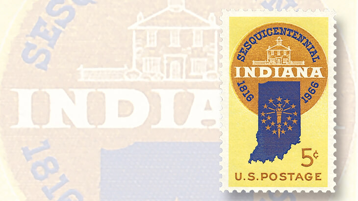 1966-indiana-five-cent-stamp