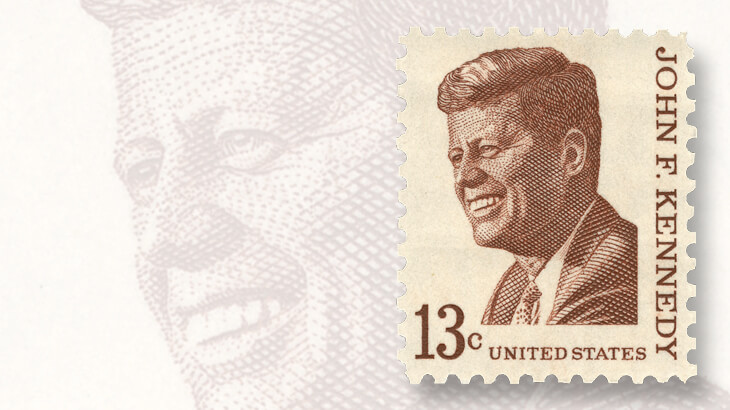 1967-prominent-americans-john-f-kennedy-stamp