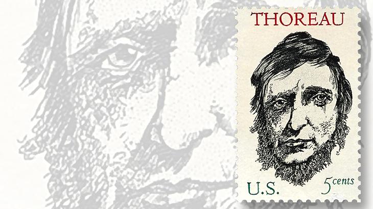 1967-thoreau-five-cent-commemorative-stamp