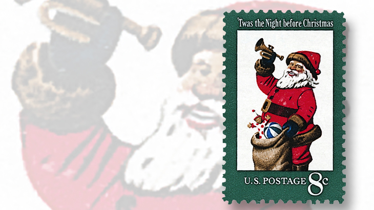 1972-first-santa-claus-stamp