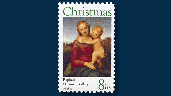 1973-eight-cent-christmas-stamp