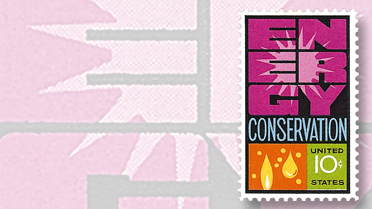 1974-ten-cent-stamp-world-energy-conference