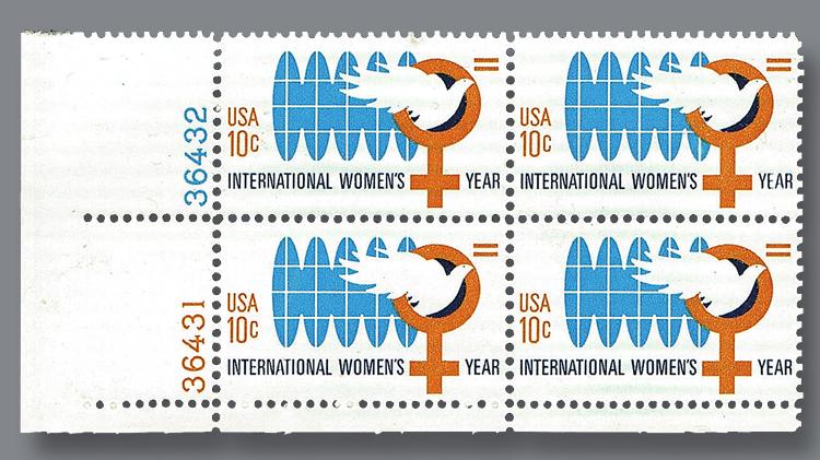 1975-ten-cent-international-women-year-commemorative-stamp