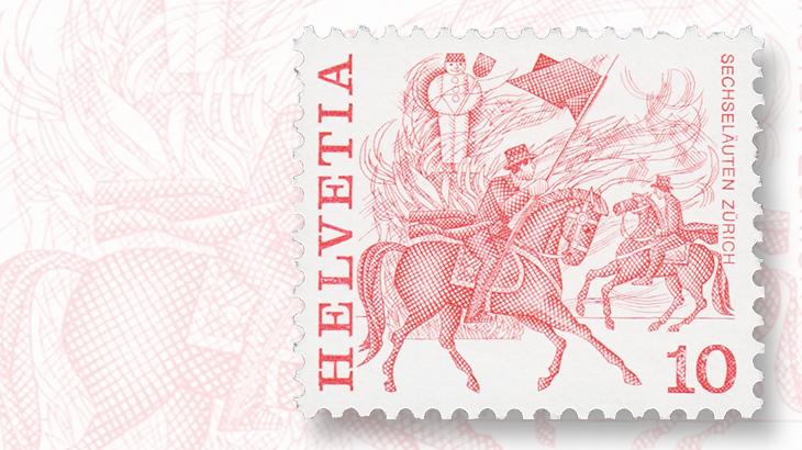 1977-10-centime-stamp