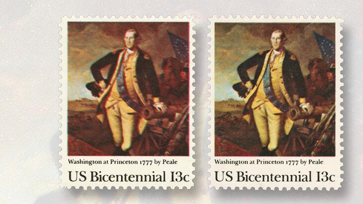 1977-thirteen-cent-washington-at-princeton-stamp