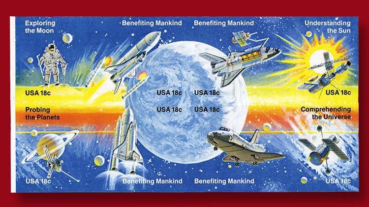 1981-eighteen-cent-space-achievement-issue