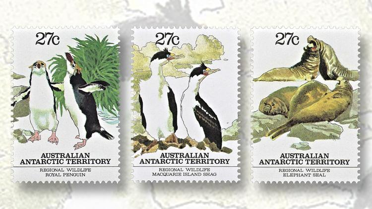 1983-three-types-macquarie-island-wildlife