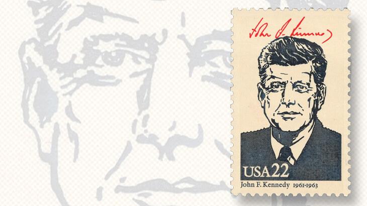 1986-presidential-john-f-kennedy-stamp
