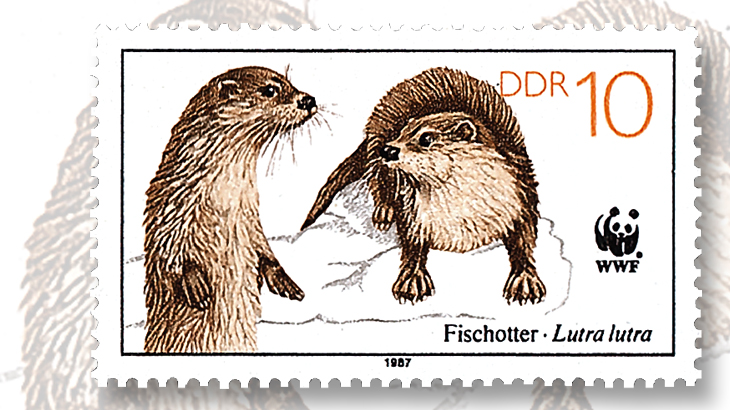1987-webbed-feet-fish-otter-stamp