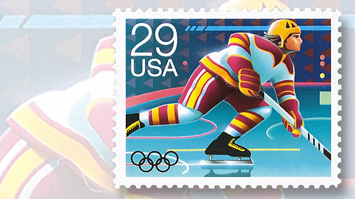 1992-olympic-winter-games-twenty-nine-stamp