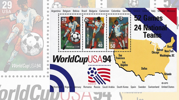 1994-soccer-player-three-different-stamps