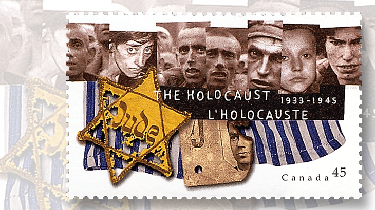 1995-canadian-issued-50th-anniversary-on-end-of-holocaust