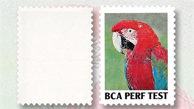 1996-blank-parrot-stamp