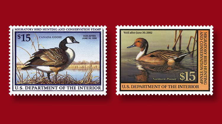 1997-canada-goose-federal-duck-stamp