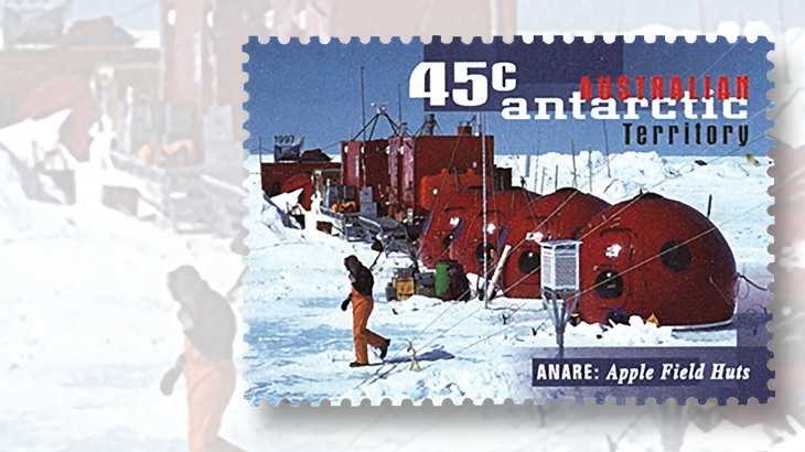 Stamps of antarctica as far down under as you can go for Can you go to antarctica