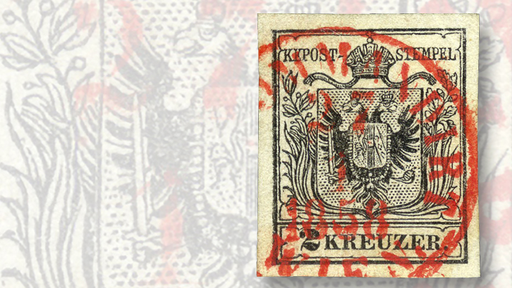 Austria Lombardy-Venetia stamps