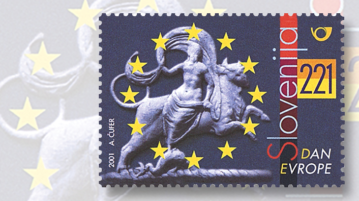 2001-slovenia-221t-europa-and-the-bull-stamp