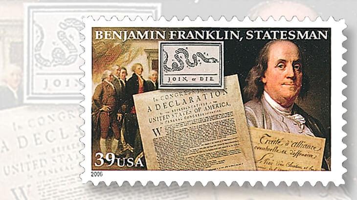 2006-benjamin-franklin-statesman-stamp