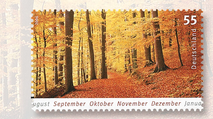 2006-germany-autumn-months-stamp