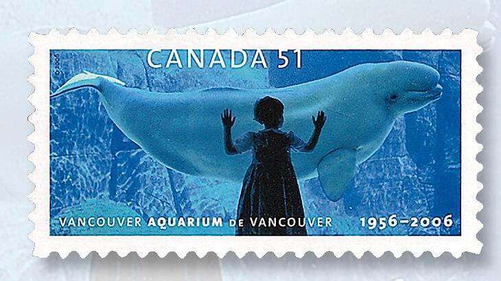 Canada Aquarium stamp