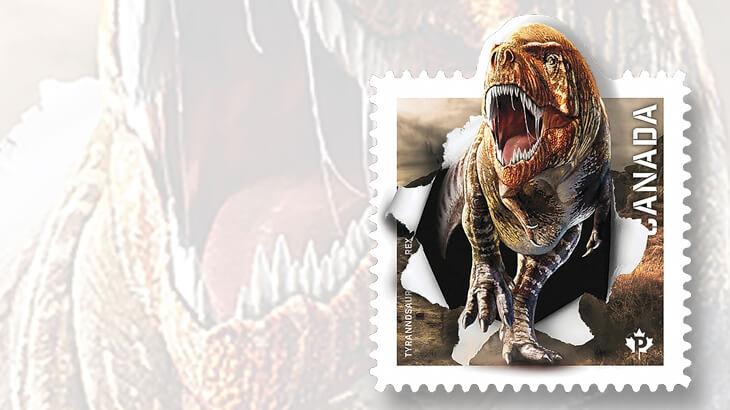 2015-canada-tyrannosaurus-rex-stamp
