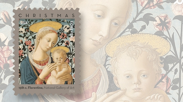 When And Where Madonna And Child Stamp Will Be Issued Linns Com