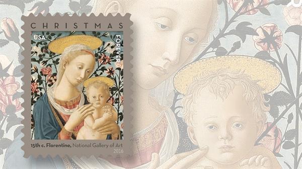 2016-florentine-madonna-child-christmas-forever-stamp