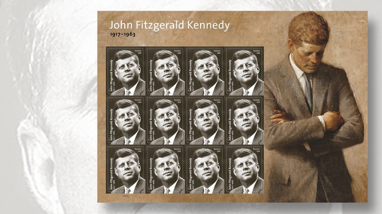 2017-john-f-kennedy-forever-stamp-pane