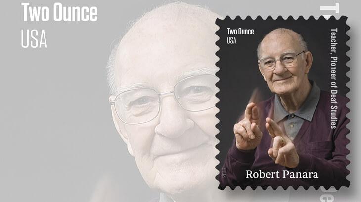 2017-robert-panara-united-states-stamp