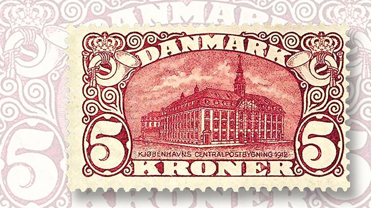 2017-scott-standard-catalog-volume-3-denmark-general-post-office-stamp