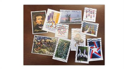 2021-stamp-collecting-resolutions-used-united-states-stamps