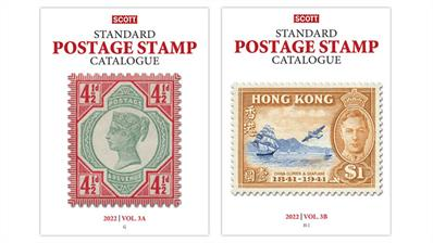 2022-scott-standard-postage-stamp catalogue-volume-3
