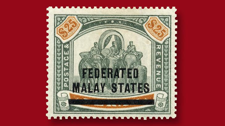 25-dollar-elephants-howdah-stamp