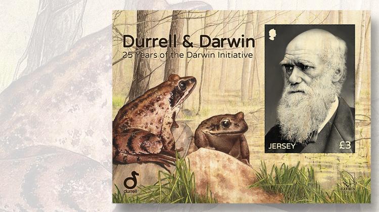 25th-anniversary-darwin-initiative-first-souvenir-sheet